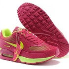Женские кроссовки Nike Air Max 90 GL - кораловые салатовый