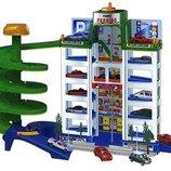 Детская мега-парковка паркинг 4 машинки 922