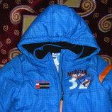 Теплые весенние куртки на 4-6 лет 104-116 -128 см