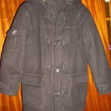 Утепленное шерстяное пальто, новая теплая осенняя вельветовая куртка. NKY на рост 98- 104 см