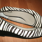 7р, 40.5-26.5 см эксклюзивные новые туфли из зебры Marks&Spencer Portfolio