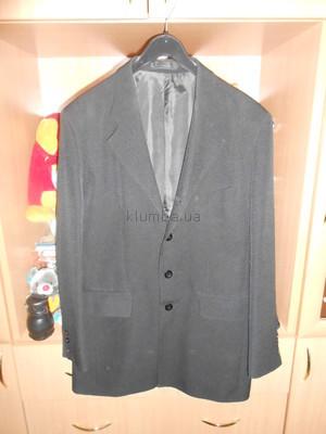 Пиджак удлиненный черного цвета рост 170-175 см