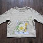 футболка с длинным рукавом George сафари. 9-12мес