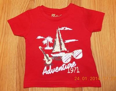 Акция Красивая футболка early days для мальчика 12-18 месяцев, 80 см