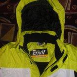 Лыжная куртка, комбинезон на р.128 и р. 152