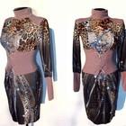 Распродажа. Классное платье. Моделька в стиле Gucci, принт. Р-р 42 S НОВОЕ
