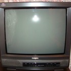 Телевизор Philips, рабочий, диагональ 53 см и тумба под телевизор, б/у