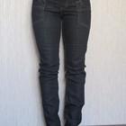 темно-синие джинсы скини OLALA. разм.36 наш 42 . XS