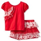 Костюм футболка юбка-шорты Nannette США,2Т,НОВЫЙ