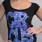 черная футболка Tally Weijl из 100% вискозы. разм.XS