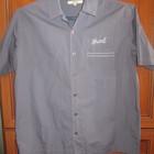 Рубашка мужская с коротким рукавом р.52