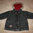 Курточка стильна джинсова тепла Next baby Оригінал Німеччина на ріст 86
