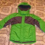 Умопомрачительная салатовая куртка Тополино, рост 98-122, 128-134
