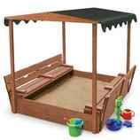 Песочница детская,песочница из дерева Pes-4