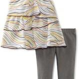 новый красивый летний набор Calvin Klein на девочку 4года