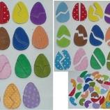 Настольная игра Яйца .Учим цвета,развиваем логику.Ручная работа.