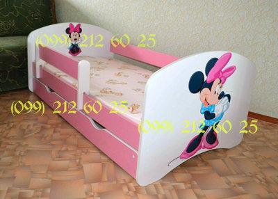 Детская кровать со съёмным защитным бортиком.Бесплатная доставка по Украине