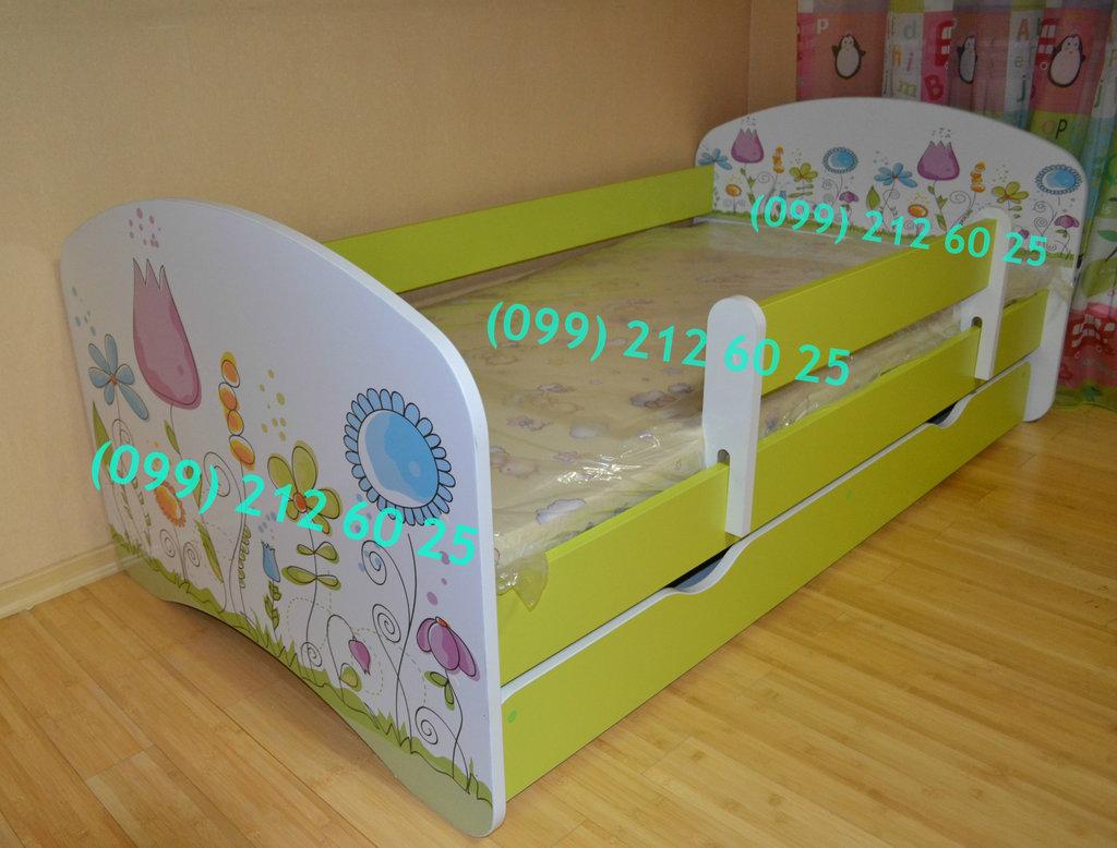 кровать с защитным бортикомбесплатная доставка по украине 3950 грн