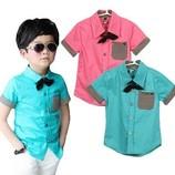 Рубашка, сорочка с коротким рукавом код с-019
