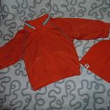 Яркая куртка, оранжевая ветровка Old Navy. 18-24м