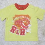 ярко-желтая футболка со слоном Rocha на 0-3мес