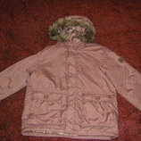 Куртка на флисе тополино, идеальное состояние, р.122, 134