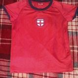 футболка Англия на 5-7 лет