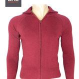 Кофта свитер на молнии «BHS» Англия , детский подростковый «Бургундия» бордовый на 15-16 лет