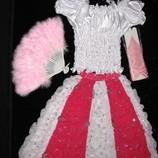 Прокат карнавальный костюм Киев-Борисполь красивейший костюм для утренников- бусинка, принцесса или