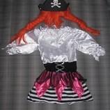 Прокат карнавальный костюм Киев-Борисполь Новогодний костюм Пиратки на 3-5 лет