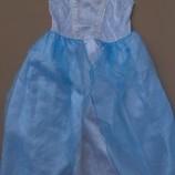 карнавальный костюм Платье Снежинка на 6-8 лет