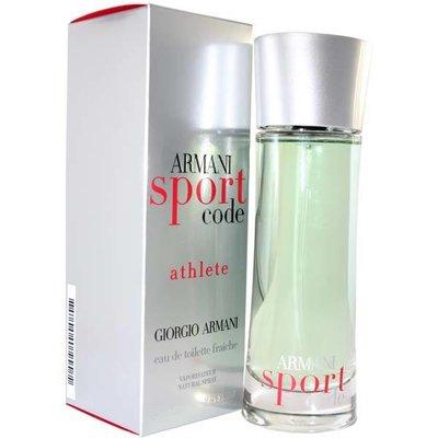 Armani Code Sport Athlete 125 мл для мужчин лето