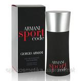 Giorgio Armani Armani Sport Code 125 мл для мужчин лето