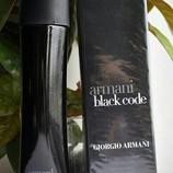Armani black Code Giorgio Armani 125 мл для мужчин
