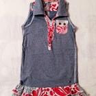 Платье, сарафан Jilly на 4-6 лет. Италия. Стильный, Летний сарафан для девочки.