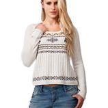 Новый свитер с совами белый Fresh Made Германия 50-52р