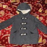 Бежевое пальто недорого, симпатичные пальто и новая деми куртка 74-86-92 см