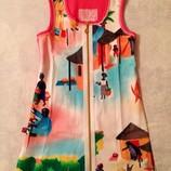 Новый. Яркий сарафан для девочки на 5-7 лет. Платье летнее.