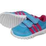 новые красивые фирменные кроссовки Adidas. разм.19. Оригинал