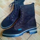 Завоз обуви Стильные сапоги деми от Venice. Стелька 25,6 см.