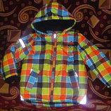 Новая Теплая осенне-зимняя куртка Тополино 98-128