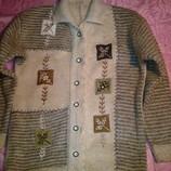 Кофточка,кофта,джемпер,свитер,гольф теплая размер 42, б/у