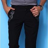 стильные брюки с вышивкой на 34евроL-XL Рус50-52