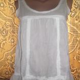 Белая блуза RIVER ISLAND 8/10-36/38 наш 42-44 , для будущей мамы