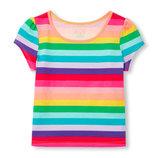 Новые футболки девочке от 3 до 16 лет от Сhildrensplace, Сша