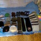 Шапки зимние и демисезонные,шарфы и перчатки