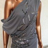 стильная брендовая блузка OASIS оригинал со стразами из Англии новая