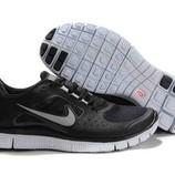 Муские кроссовки Nike Free Run Plus 3 - черные
