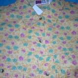 рубашка женская длинный рукав хлопок ПОГ-56см Германия НОВаЯ