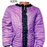 Куртка «Zara» Испания детская для девочек сиреневая